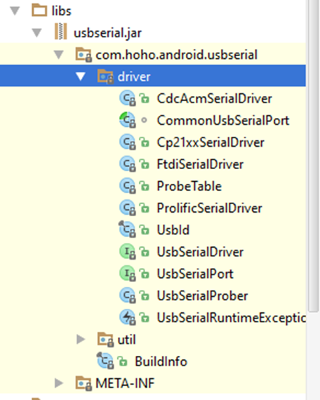 Coding USB-Serial using Android Studio